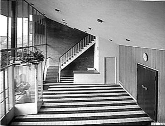 City theater emmen 1953 1978 - Kleur idee entreehal ...